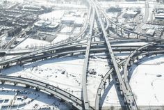 Highway Interchanges From the Sky