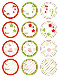Free Christmas Gift Tags Printable