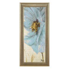 Blue Poppy II Framed Art Print | Kirklands