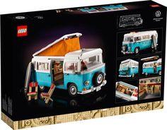 The Lego Car Blog | The Best LEGO Cars on the Web! | LEGO News, Reviews & MOCs | Cars, Trucks, Sci-Fi, Aircraft & More Volkswagen, Electric Van, Office Ornaments, Hong Kong, Lego Kits, Lego Creator, Camper Van, Hot Wheels, Surfboard