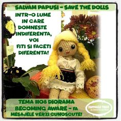Salvam Papusi // Save the Dolls Diorama Becoming Aware - Fa mesajele Verzi cunoscute! Diorama, Agatha Christie, Challenges, Teddy Bear, Dolls, Blog, Animals, The Originals, Baby Dolls