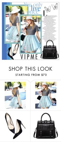 """""""VipMe"""" by mujkic-merima ❤ liked on Polyvore featuring Balmain, women's clothing, women, female, woman, misses, juniors and vipme"""