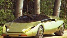 Lamborghini P140 (1989) – Old Concept Cars