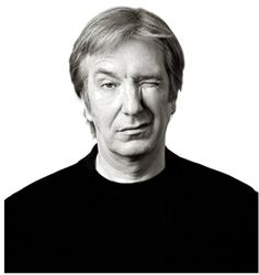 Andy Gotts takes spontaneous and endearing portraits of celebrities: Alan Rickman / by Andy Gotts MBE (date? Donald Sutherland, Black And White Portraits, Black White Photos, Joseph Gordon Levitt, George Clooney, Happy Birthday Alan, Andy Gotts, Martin Schoeller, Actrices Hollywood