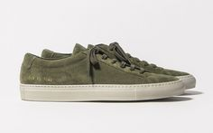 Common Projects Achille Low Suede