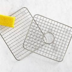 Stainless Steel Sink Grids I Crate and Barrel