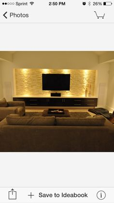 """I want to get this then replace the TV with a 90"""""""