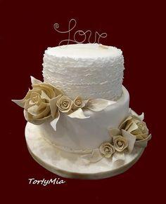 Svadobná torta Love , svadobné torty | Tortyodmamy.sk