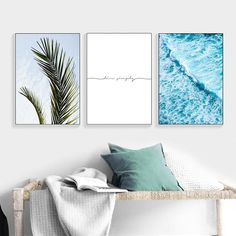 If you are planing to transform a blank wall, these canvas art prints are a great additions to inject moer personality in any spaces whether that be in your living room, bedroom, bar, dinning room or Cute Wall Decor, Home Decor Wall Art, Living Room Decor, Living Room Artwork, Living Room Prints, Bedroom Prints, Coastal Wall Art, Beach Wall Art, Home Design