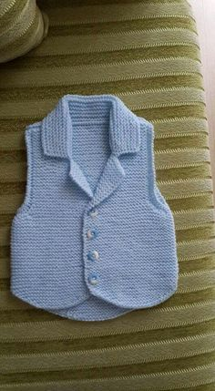 Crochet Baby, Vest, Stitch, Sweaters, Jackets, Dresses, Fashion, Fox Scarf, Baby Things