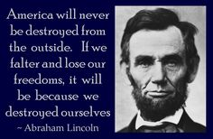 Abraham Lincoln was a CHRISTIAN PATRIOT!!