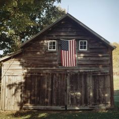 Flag Barn Photographic Print by Sarah Blodgett from AllPosters.com - $14.99