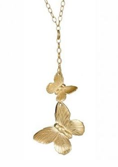 Butterfly Duo Necklace SO INLOVE WITH THIS NECKLESS <3