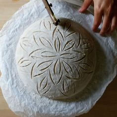 The dough rose fast in bulk so I shaped earlier than usual, it seems with good results! Artisan Bread Recipes, Sourdough Recipes, Sourdough Bread, Cooking Bread, Bread Baking, Pain Artisanal, Bread Art, Our Daily Bread, Bakery Recipes