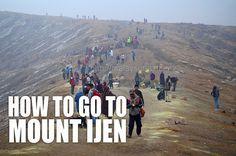 Malaysia Asia: How to go to Mount Ijen, Banyuwangi
