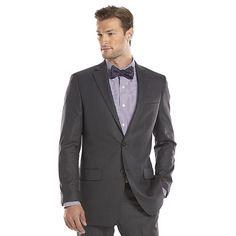 Men's Apt. 9® Slim-Fit Stretch Suit Jacket, Size: 36 - regular, Grey