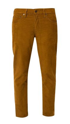 Say good bye to the basic pants! Slim Harvest Jeans by LEVI'S, brown color pants with corduroy texture, made from cotton, front button, and zipper, front pocket, stitching accent, regular fit. Perfect pants for hang out.   http://www.zocko.com/z/JJVoU