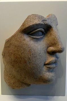 Fragment of a Female Head (Greek, S Italy, 440-430 BC). Getty Villa