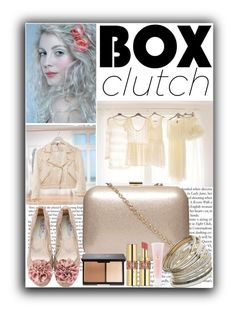 """""""Box Clutch"""" by amira ❤ liked on Polyvore featuring H&M, Nude, Dorothy Perkins, Miss Selfridge, Yves Saint Laurent, Lancôme, women's clothing, women's fashion, women and female"""