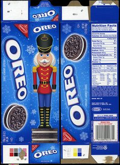 Nabisco Cookies From the Past boxes   Nabisco - Oreo cookie - 5.25 ounce holiday box - 2009   Flickr - Photo ...