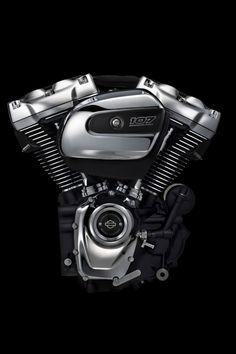 Milwaukee 8 Harley engine