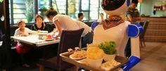 Restaurantes 'sofrem' com incompetência de robots
