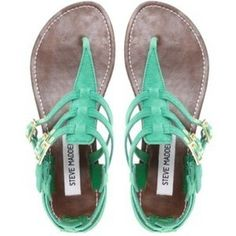 love the color and the sandals