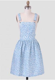 Weekday Brunch Overall Dress | Modern Vintage Clearance | Modern Vintage Sale | Ruche