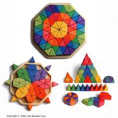 Me melodia: Noviembre 2009 Wooden Block Puzzle, Wooden Puzzles, Wooden Blocks, Grimm's Toys, Diy Toys, Diy For Kids, Crafts For Kids, Wood Crafts, Diy And Crafts