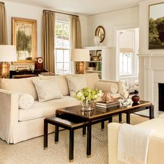 The Living Room - The Editor's Editor: Lindsay Bierman's Birmingham Home - Southern Living