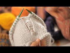 How to Create False Seams | Circular Knitting - YouTube