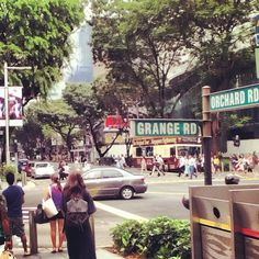 Orchard Road i Singapore