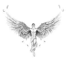 GRIFFE TATTOO: Tattoo Anjos uma Coletânea Perfeita