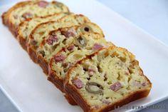 Recette Cake au jambon et olives - La cuisine familiale : Un plat, Une recette