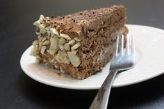 Chocolate Sans Rival (gluten-free, dairy-free)