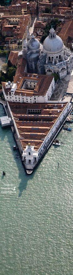 Venice - Basilica di Santa Maria della Salute. #italytravelinspiration