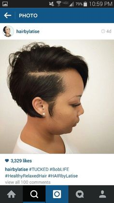 My hair style Short Black Hairstyles, Pixie Hairstyles, Short Hair Cuts, Pixie Haircuts, Curly Hair Styles, Natural Hair Styles, Sassy Hair, Hair Game, My Hairstyle