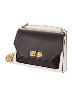 0dd746e11d73 Ivory and black Bally Small Suzy bag with gold-tone hardware