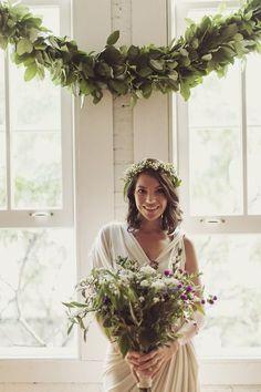 foxontherunbride: (via treasures / jamesnord: Theresa Berenato in Lanvin on her wedding day. Cute Wedding Ideas, Wedding Styles, Wedding Inspiration, Whimsical Wedding, Glamorous Wedding, Garland Wedding, Wedding Decorations, Wedding Themes, Party Themes