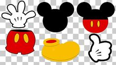 Mickey Mouse Donald Duck, Mickey Y Minnie, Disney Mickey Mouse, Minnie Png, Minnie Mouse Drawing, Mickey Mouse Drawings, Duck Illustration, Balloon Illustration, Mickey Mouse Clubhouse