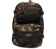 MFH US Rucksack, Assault II, woodland / mehr Infos auf: www.Guntia-Militaria-Shop.de