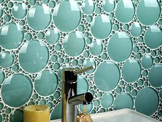 Bubbly tiles