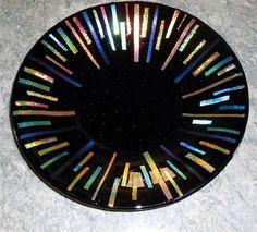 """Cosmic Burst $ 175.00 16"""" diameter"""