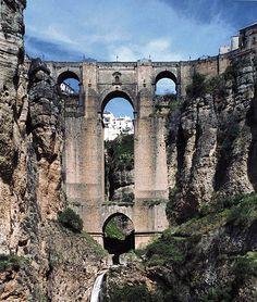Puente nuevo, Ronda, Spain