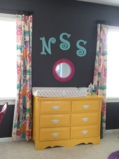 Old dresser= new changing table