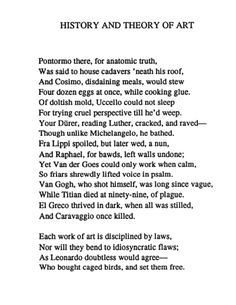 Another David Markson poem.