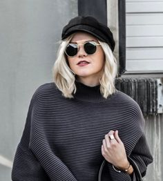 Faux Suede Cabby Hat at All Of My Essence Store | Lookave - #hat #black #blackhat #suede #fauxsuede #faux #suedehat #cabbyhat #sunglasses #ootd #onlineshopping #lookave #onlineshopping #streetstyle #style #fashion #outfit