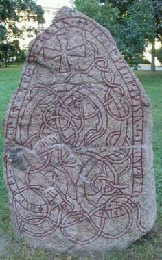 Viking rune stone | Scottish, celtic and viking | Pinterest