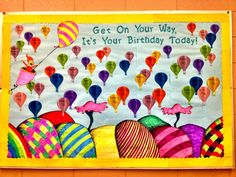 Toddler Birthday Bulletin Board Ideas