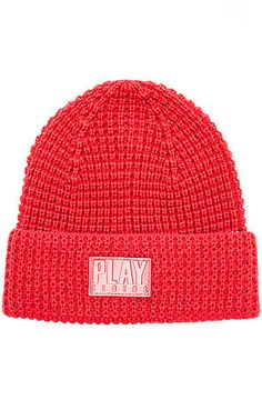 Play Cloths The Rascal Skully Beanie in Chili Pepper